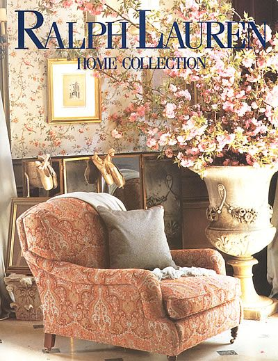 Beautiful 1995 Ralph Lauren Collection Home Floral 3 Page Magazine Ad | EBay Awesome Design