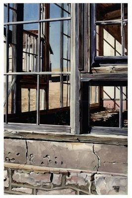 The Window Frame - | Mynderd Vosloo | Painters Online