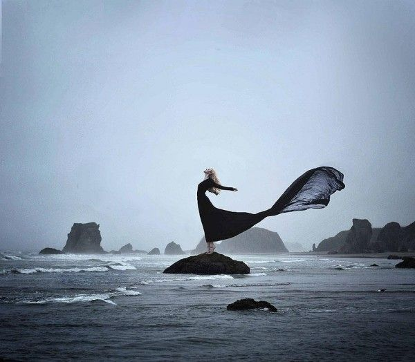 20 years old U.S.-based photographer Rachel Baran creates powerful surreal and conceptual self portraits.