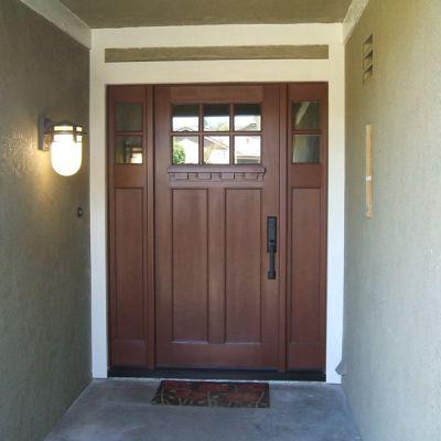Plastpro Craftsman Fiberglass Entry Door Front Door