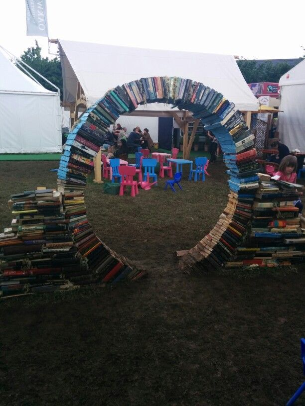 Garden feature as in Hay Festival