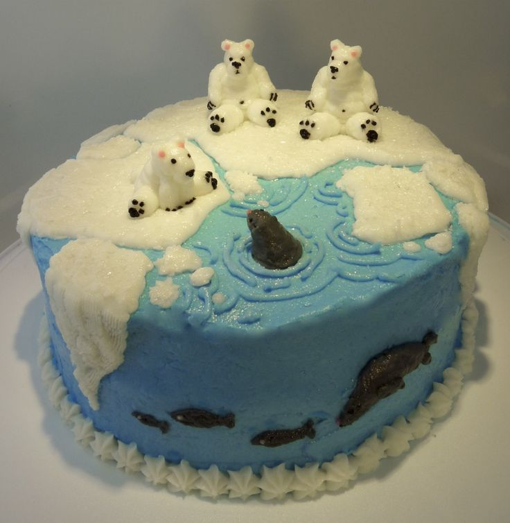 Radicchio! Temple of Food: Polar Bear Cake