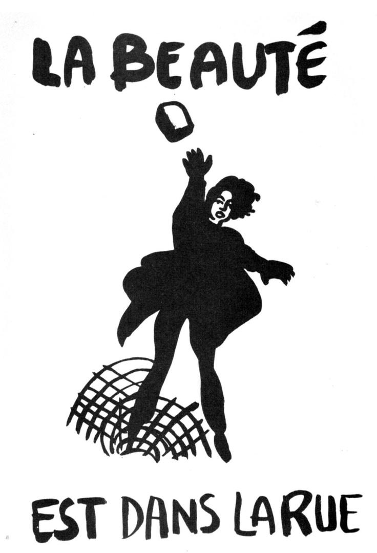 May 1968 - La beauté est dans la rue #revolution