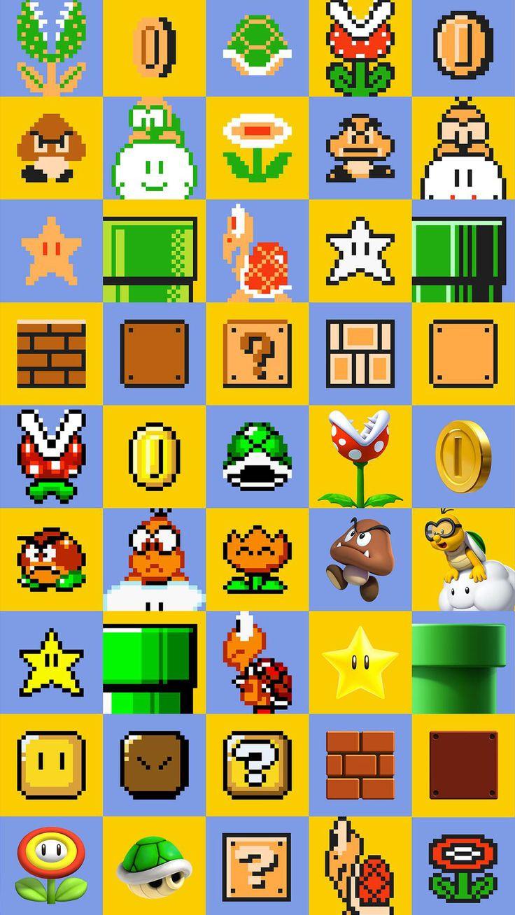 Super Mario Maker Wii U 2015 imagens) Papéis de
