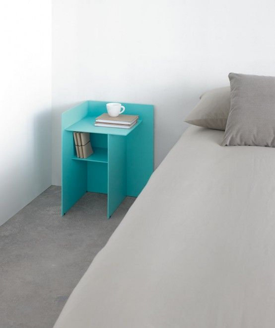 Colourful Judd side table