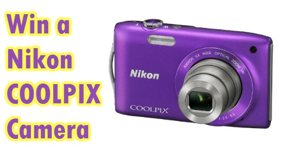 Win a Nikon COOLPIX Camera