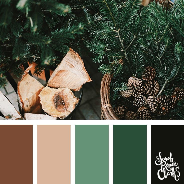 Warm Christmas fireplace inspo // Christmas Color Schemes // Click for more Christmas color palettes, mood boards and color combinations at https://sarahrenaeclark.com #color #colorscheme #colorpalette