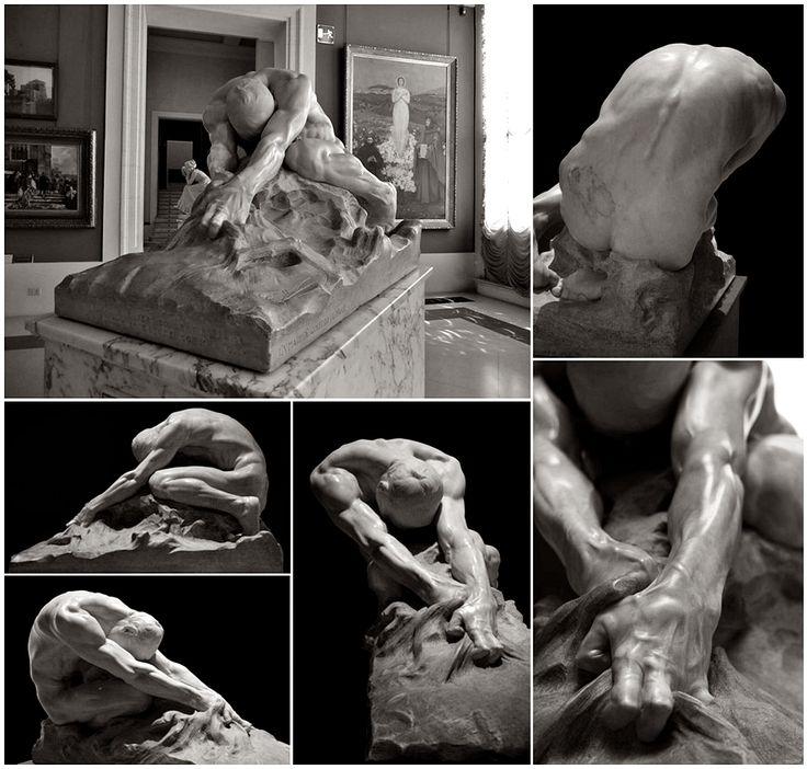 Gaetano Cellini, ''L'umanit� contro il male'' | Esculturas | Pinterest