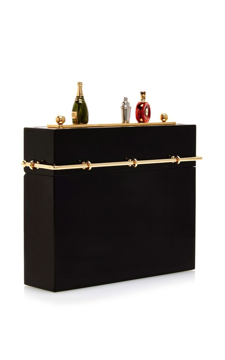 Cocktail Hour Clutch by Charlotte Olympia for Preorder on Moda Operandi