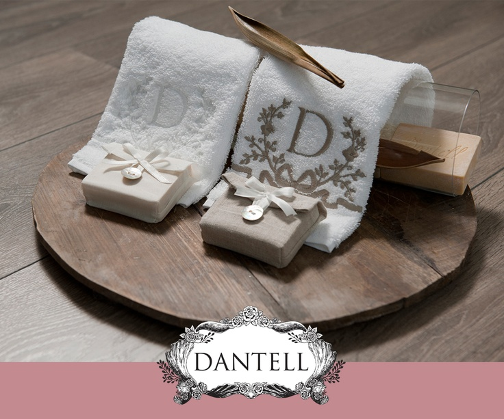DANTELL News Update March 2013; DANTELL, D Needleworked Hand Towels.   With white and beige alternatives, our D Needleworked Hand Towels are waiting for you on DANTELL stores :)  #dantell #dantellbrand #homedecoration #fashion #bathrooms #hometextile #needlework