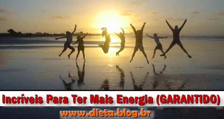 Guia Completo e Atualizado com os 20 Surpreendentes Dicas Para Ter Mais Energia. Truques e Atitudes que geram mais Alegria e Energia.