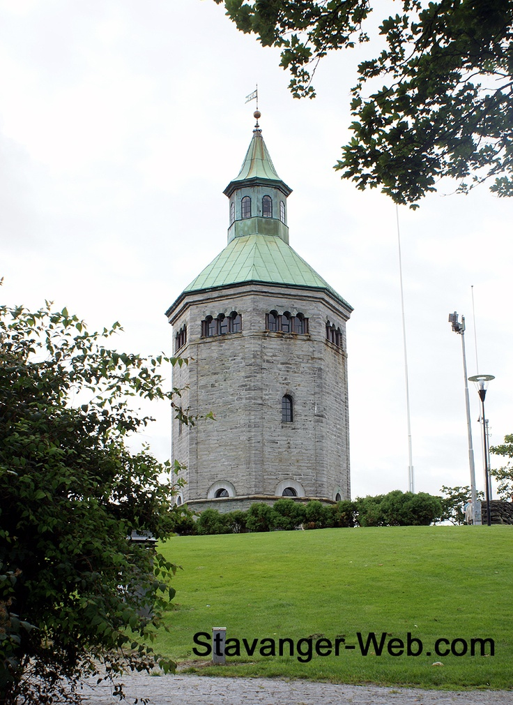 Norway. The Valberg Tower (Valbergtårnet) as it stands today, was built in 1853 as a watch tower. The tower is 26.5 meters tall. It lays in the middle of the city on a height looking over the town centrum. It was most likely built upon the ruins of an older watch tower.