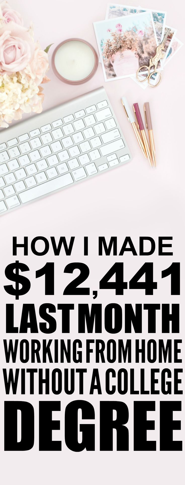 How she made $12,441 online last month is SO COOL! I'm so happy I found these AMAZING tips! Now I have a great way to make money online and work from home! I never thought about how to blog before. Definitely pinning!
