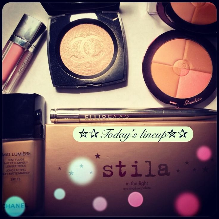 #FaceoftheDay #guerlain #stila #bbloggers #makeup