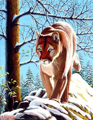 Most fans of Al Feldstein (MAD, TALES FROM THE CRYPT, WEIRD SCIENCE, etc.) don't know he spent as much of his career painting wildlife, landscapes and Native Americans after moving to Wyoming and Montana.