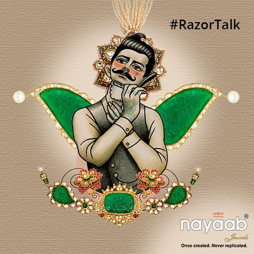 We call them #MunchSoch, such as 'Girls can't wear jeans'; '#Girls are to be blamed for rapes'; '#Women belong to kitchen'. You can continue the list of such thoughts. So, go sharp today with #RazorTalk at twitter.com/NayaabJewels #HappyWomensDay