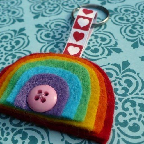 Jesse Tree Ornament Inspiration // Ark with a rainbow
