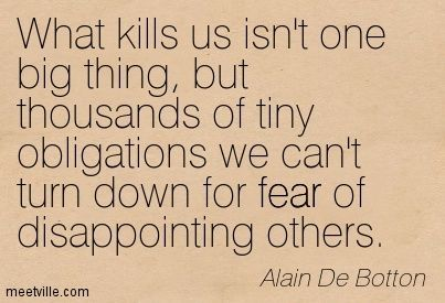 charming life pattern: alain de botton - quote - what kills us ...