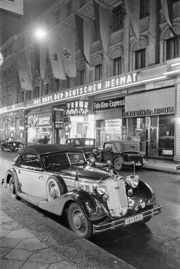 1937 Friedrichstraße Central-Hotel Haus der deutschen Heimat