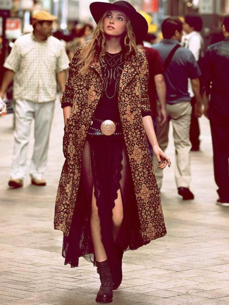 25 Boho Winter Outfits For Women To Try On