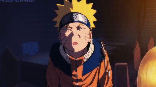Naruto » Humor » GIF | Naruto funny squinting face | #naruto