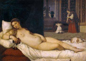 Vénus d'Urbin (1538 ou 1539) Le Titien
