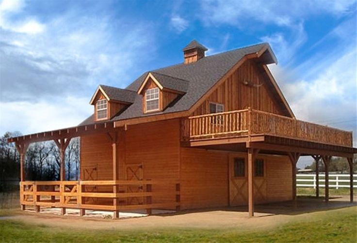 The 25 best barn loft ideas on pinterest cabin loft for Pole barns with living quarters plans