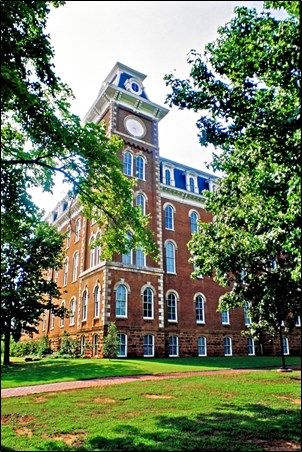 Old Main, University of Arkansas campus, Fayetteville