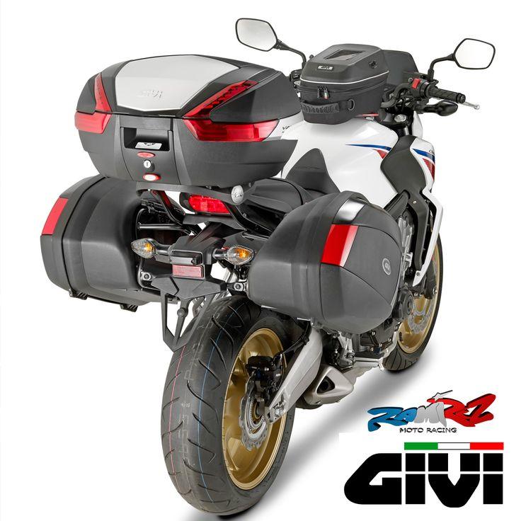 Si eres de los que te gusta llevarte la casa a cuestas en la moto, o simplemente te falta sitio donde meter tus cosas, tenemos todo tipo de #maletas y #bolsas para tu #moto. #GIVI, entre otras que tenemos, tiene un estupendo catálogo.