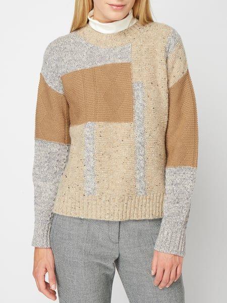 Weekend Max Mara – Pullover mit überschnittenen Schultern – Beige