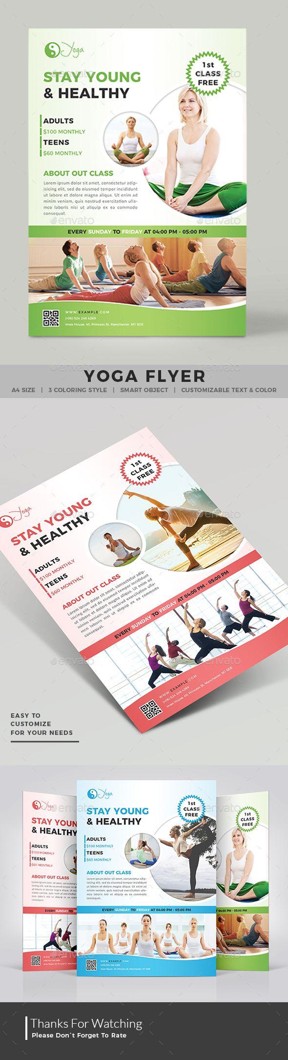 643 best Best Fitness Flyer Template images on Pinterest