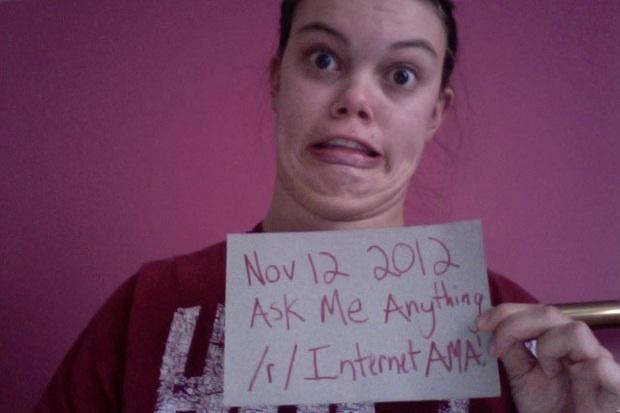 Foto inaugural do Ask Me Anything feito por Kelsey Whyte (Foto: Reprodução)