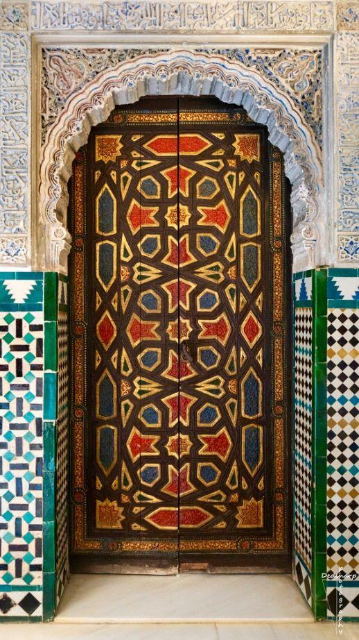 Real Alcázar - Seville, Spain door
