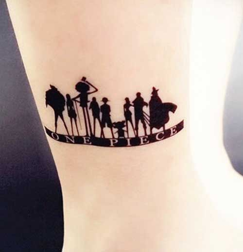 Una pieza de ideas de tatuaje