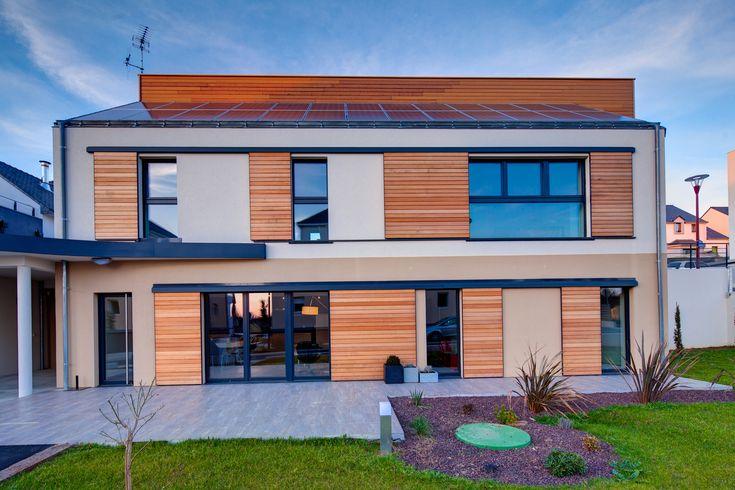 25 best constructeur maison passive images on pinterest building construction and promise rings. Black Bedroom Furniture Sets. Home Design Ideas