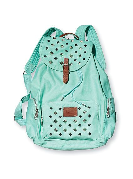 MINT Backpack so cute to show off!