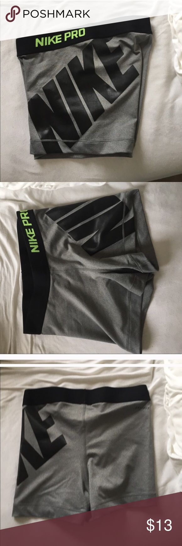 Nike compression shorts Great condition, too small for me! Nike Shorts