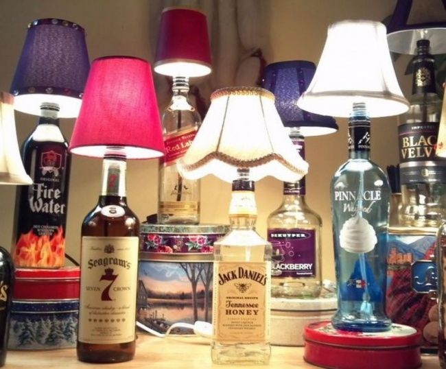 The 20coolest decor ideas using ordinary bottles