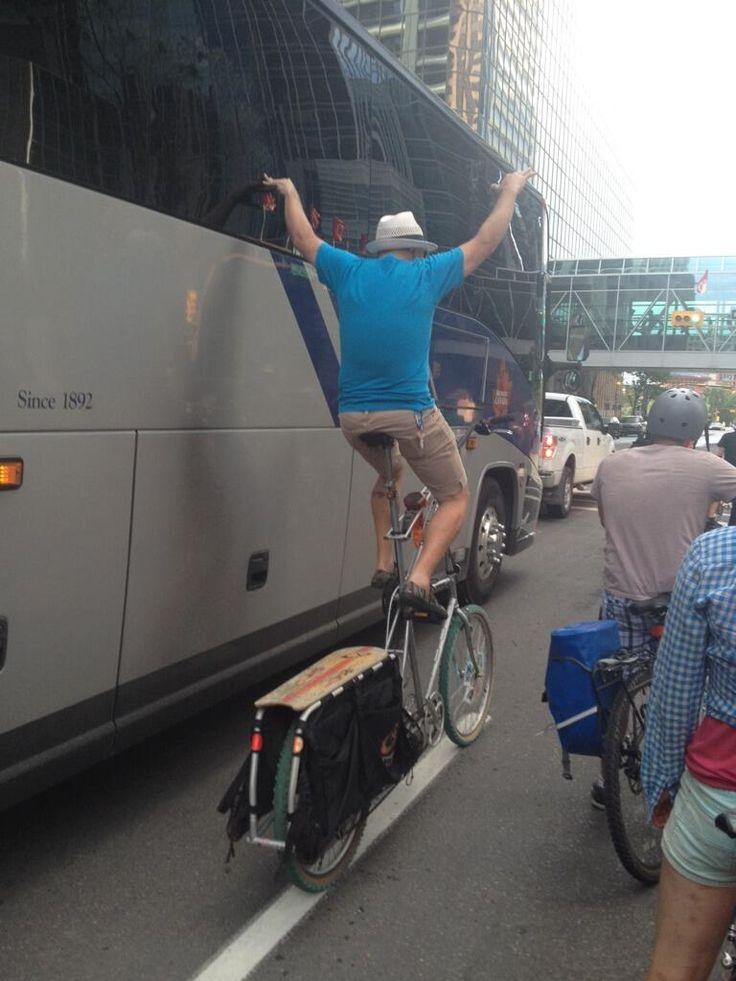 Tallbike! Cyclepalooza Pinata Ride 2014 Twitter #yycbike