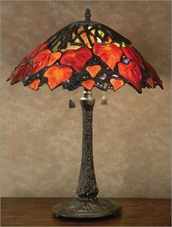 Tiffany Lamps  - amazing looking shade just for inspiration, not a pattern