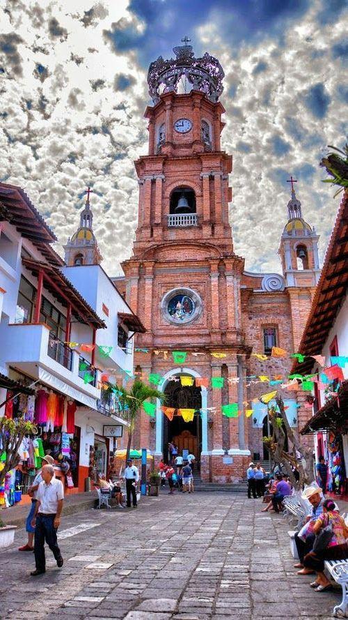 Church of Nuestra Señora de Guadalupe, Puerto Vallarta, Jalisco, Mexico