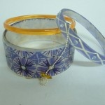 $59.90 ..Lalo Morning Dew Resin Bangle set..Made in Bulgaria and SO pretty!