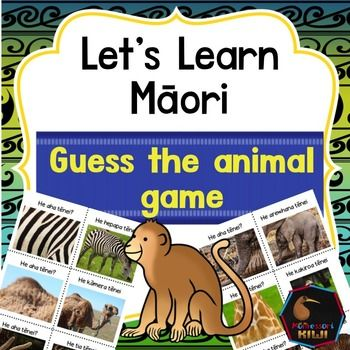 Help your tamariki learn the Te Reo Maori names of zoo animals. A great Maori Teaching activity for junior and pre-school children.Children match the picture of a 'close up' of an animal to the full picture.  There are 10 sets.