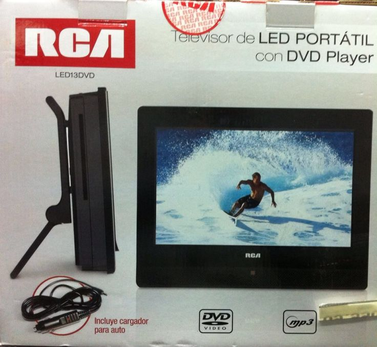 Televisor Led Portatil Con Dvd Player 70.000  djfens