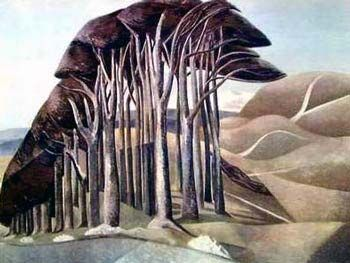 Paul Nash - I could stare at your trees always.