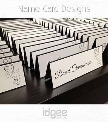 Wedding Designs | Name cards