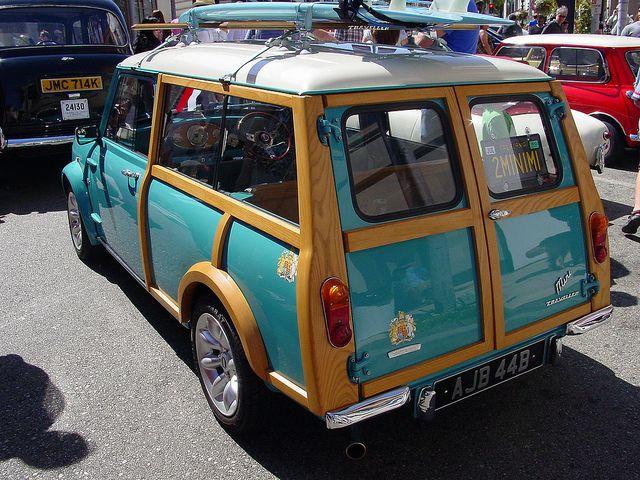 1960's Morris Mini Traveller Woody