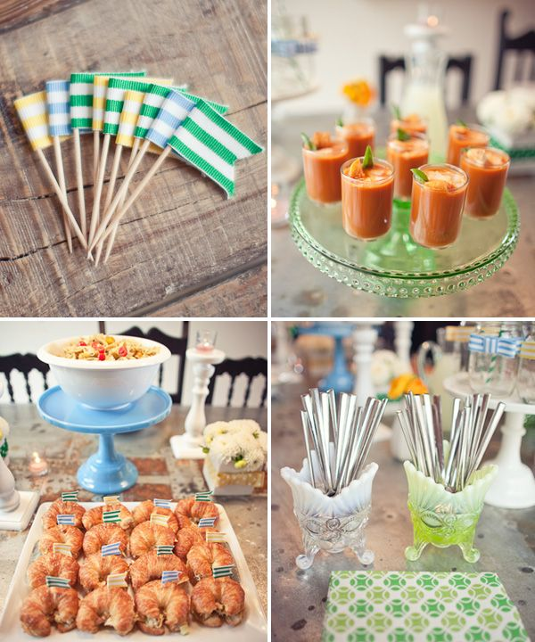 Baby Shower: Cupcakes Flags, Bows Ties, Babyshower Ideas, Parties Plans, Ideas Babyshower, Baby Boys, Baby Shower Boys, Baby Shower Foods, Parties Ideas