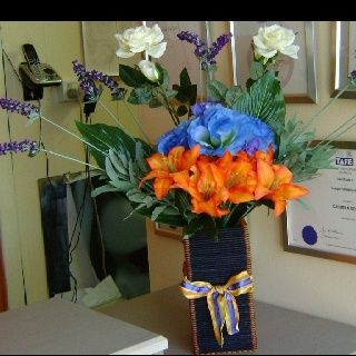 My Handemade Flower Arrangement that I made