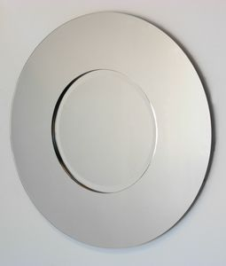 All Mirror Mirrors: Large Round Two Panel Mirror 915mm